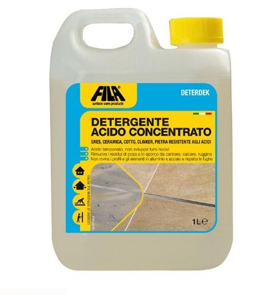 DEKACID_Detergente disincrostante acido a bassa schiuma, per pavimenti in cotto, cemento e pietra arenaria_Tanica 5 litri
