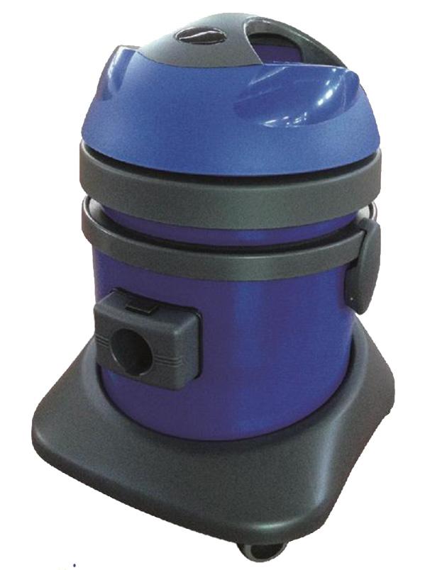 P23 Aspirapolvere in polipropilene, motore bistadio 1100W. Capacità Fusto 23 Litri ADP100PEP