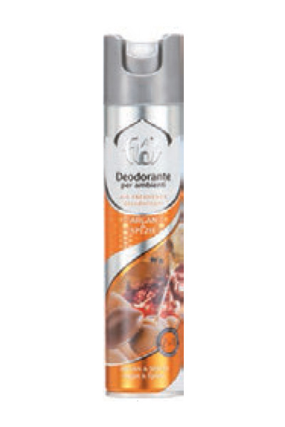 DEODORANTE SPRAY PER AMBIENTE ARGAN 300ML