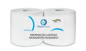 STROFINACCIO A ROTOLO ASCIUGATUTTO ECOLOGICO 170 MT - 2 veli_ Conf. 2 pz