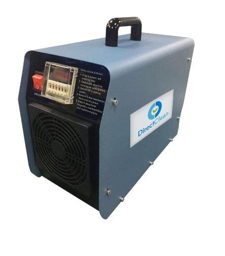 AMBIENTAL OZO-10 TIMER Generatore di ozono in acciaio con timer, 220v, 10g/h