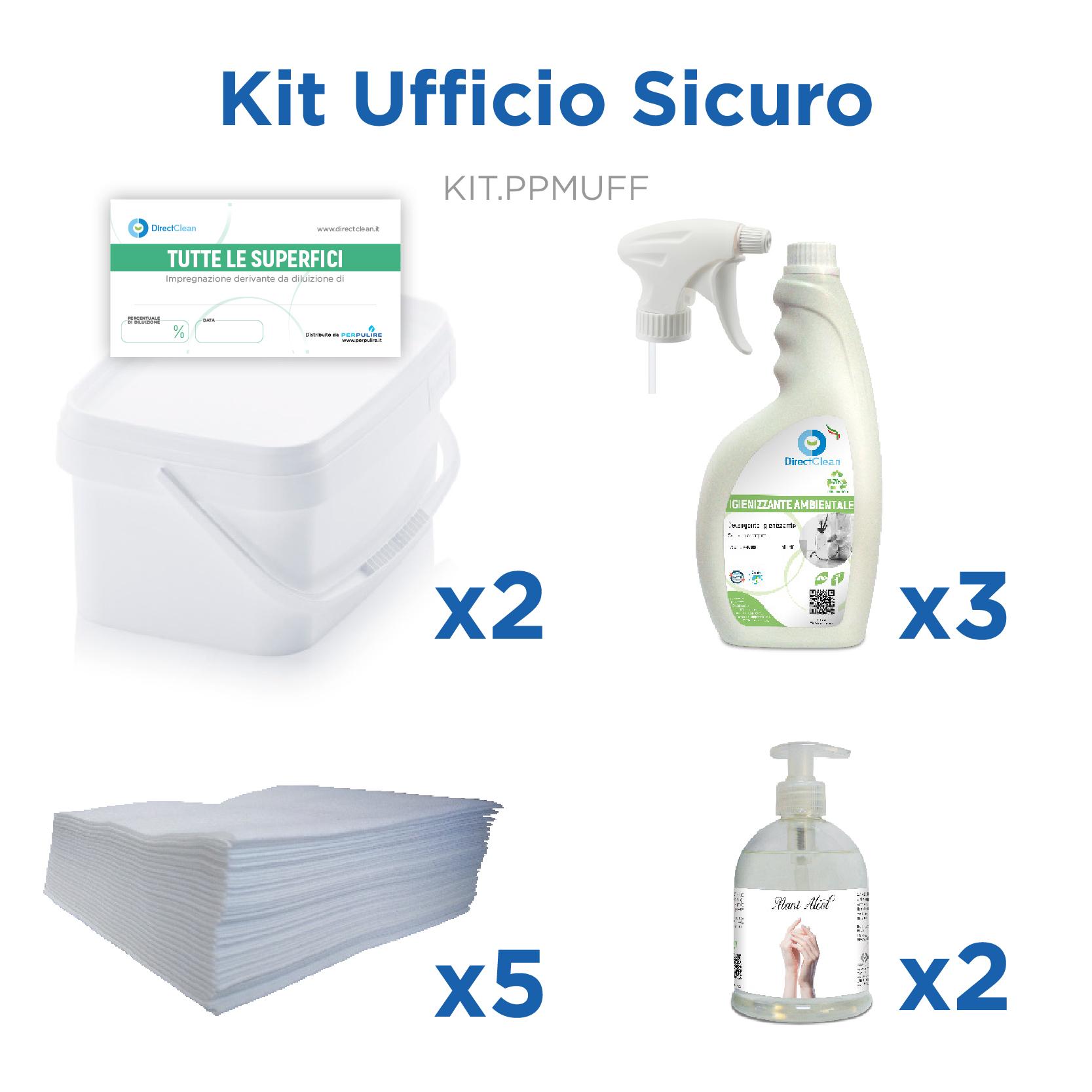 KIT UFFICIO SICURO - LINEA BENTORNATO