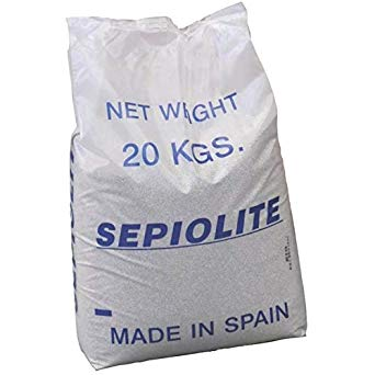 SABBIA SEPIOLITE 30/60 GRANA FINE _Sacco da 20 kg