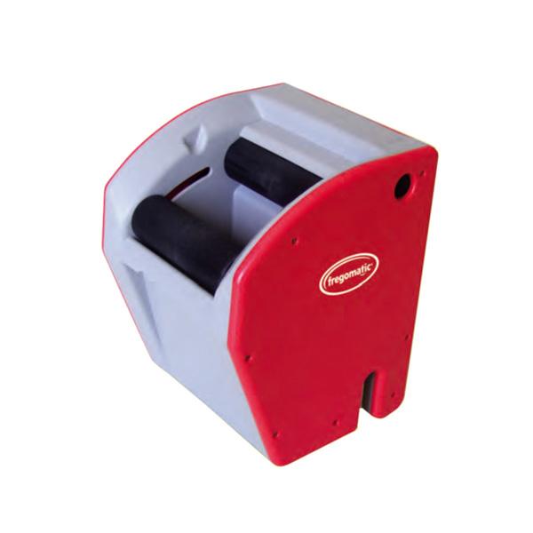 PRESSA A BATTERIA PER MOP Strizzatore automatico per mop,comprensivo di mop in cotone, pinza speciale e caricabatterie