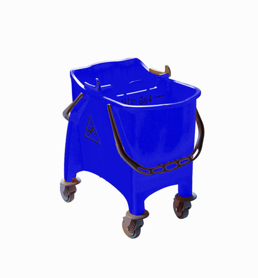 CARRELLO WITTY BLU LT.30 S/STRIZZ.