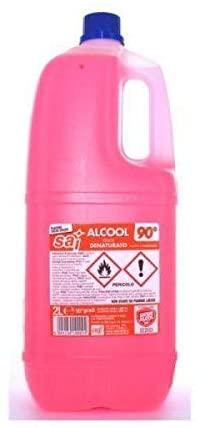ALCOOL ETIL DENATURATO 90° 2 LT