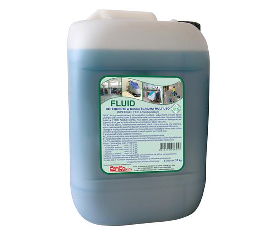 FLUID_Detergente a bassa schiuma multiuso (speciale per lavasciuga)_Tanica 10 Kg.