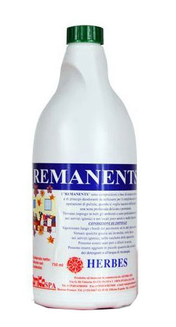 REMANENTS HERBES_ Profumatore ambientale  liquido concentrato ad effetto  persistente (erbe)_Flacone  750 gr.