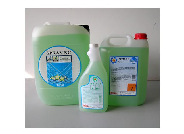 SPRAY NC 10kg Spray buffing non cerante per pulire e lucidare i film di cere metallizzate con macchina ad alta velocità