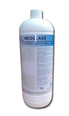 NEOGLASS Detergente  liquido per lavaggio vetri a  stecca _ flacone da 1 litro