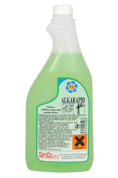 ALKARAPID_Pulitore sgrassante pronto all'uso_Flacone 750 ml