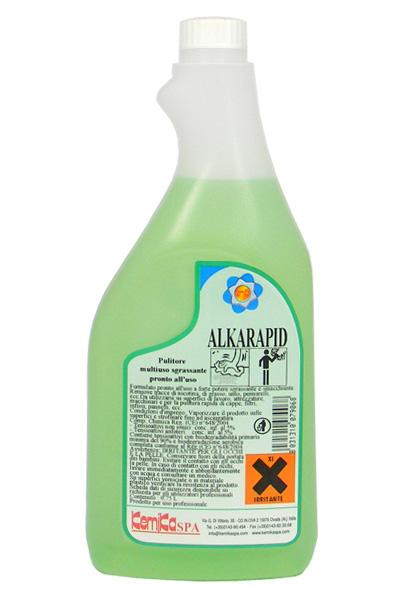 ALKARAPID_Pulitore  sgrassante pronto all'uso_ Flacone 750 ml