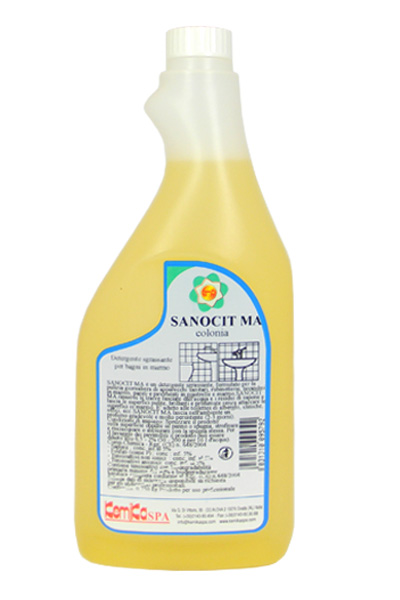 SANOCIT MA COLONIA_Detergente per bagni con superfici in marmo_750 ml