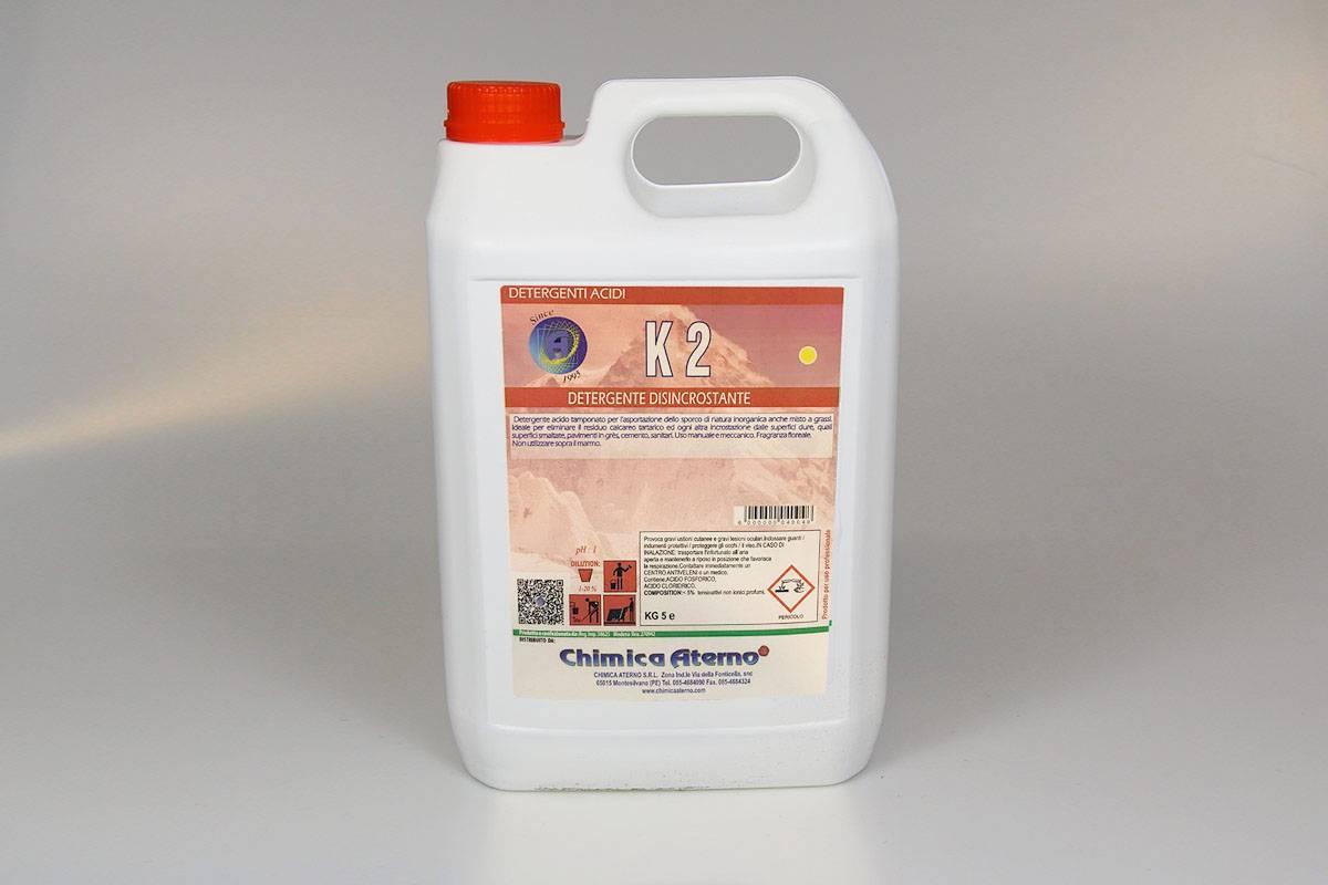K2 Detergente per la pulizia di fondo _ Tanica da 5kg (Cartone da 2 pz.)