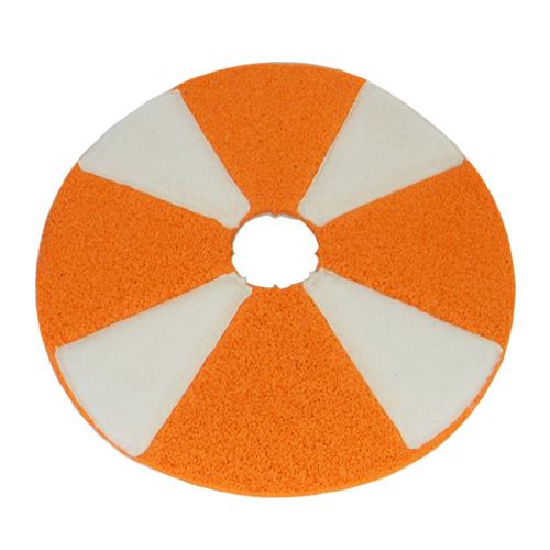 DISCO SECTOR-GUM 17  (mm 432) da Disco in  gomma e microfibra