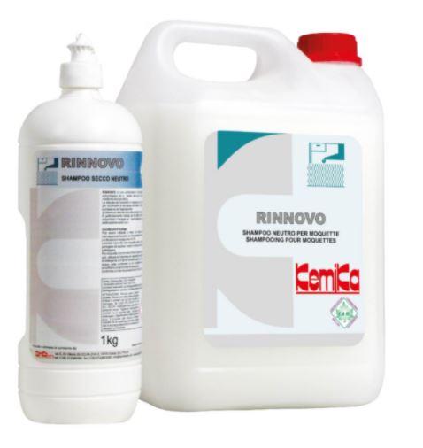 RINNOVO  1kg Shampoo  neutro a schiuma secca per  moquette