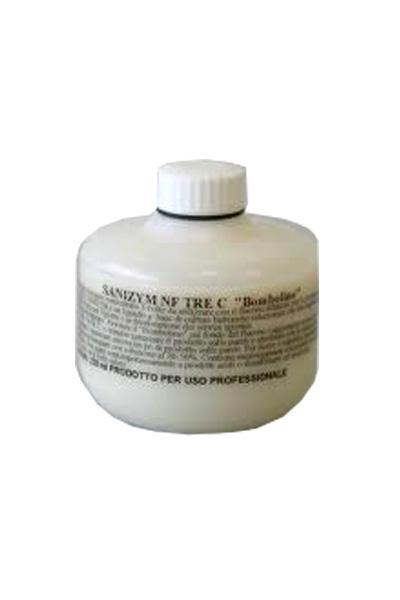 SANIZYM 3C BOMBOLINO_Deodorante biologico a tripla concentrazione per servizi igienici a forte utilizzo_crt. x 20 pz x 230 ml