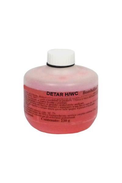 DETAR H/WC BOMBOLINO_Detergente disincrostante superconcentrato per sanitari (erogazione a schiuma) _crt. x 20 pz x 230 ml