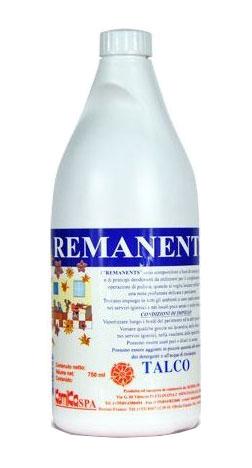 REMANENTS TALCO_ Profumatore ambientale  liquido concentrato ad effetto  persistente (talco)_Flacone  750 gr.
