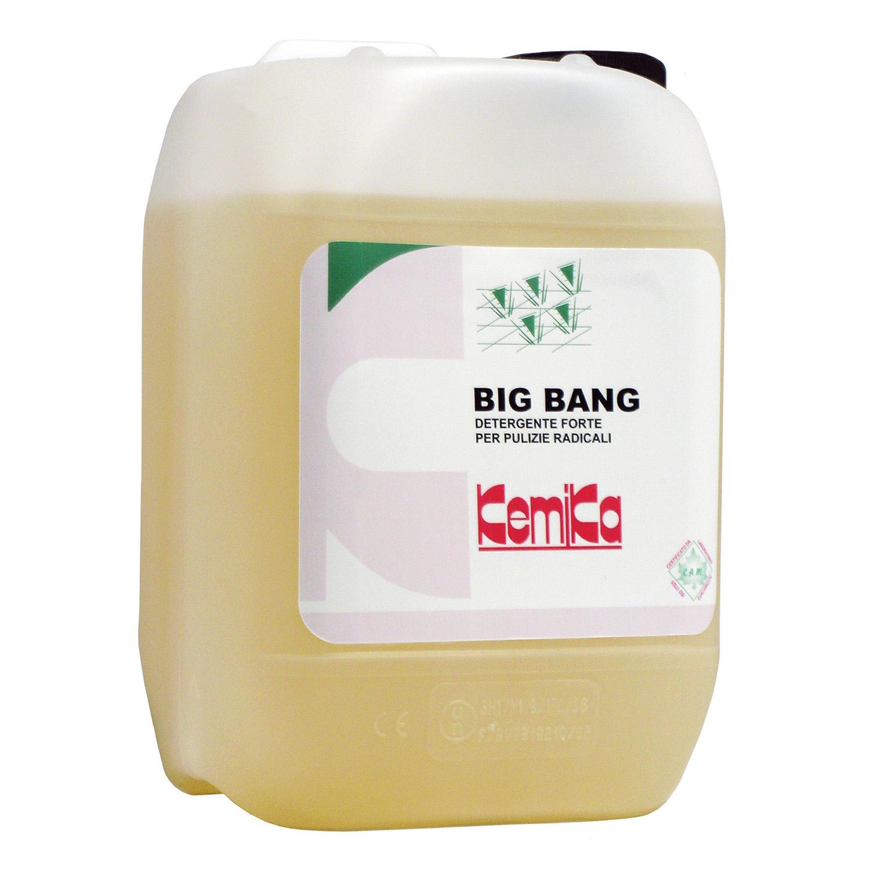 BIG BANG_Detergente forte  per pulizie radicali_Tanica 5  Kg (Cartone da 2 pz.)