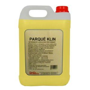 PARQUE' KLIN - Detergente lavalucido per parquet verniciati _ Tanica da 5kg (Cartone da 2 pz.)