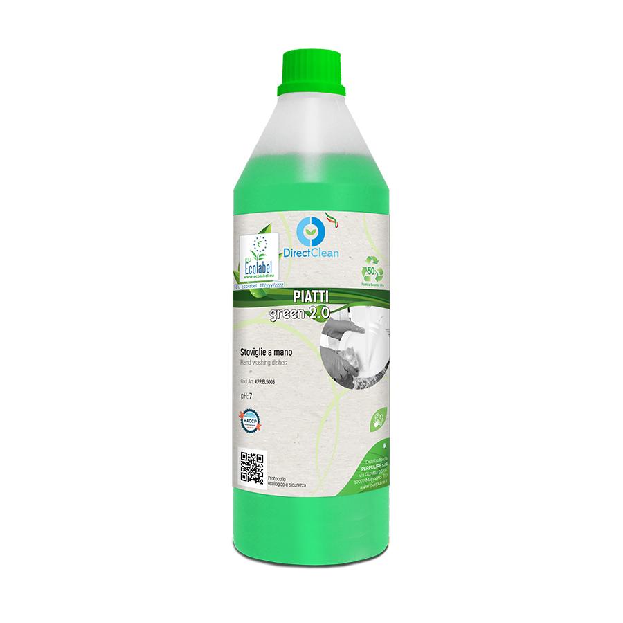 PIATTI GREEN 2.0 STOVIGLIE A MANO ECOLABEL 1LT FLACONE