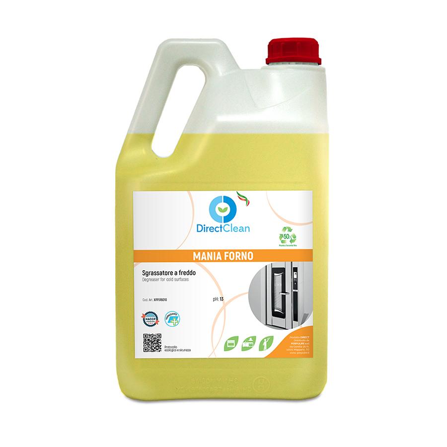 MANIA FORNO Sgrassante decarbonizzante alcalino per forni CAM_Tanica 6 kg (Cartone da 4 pz.)