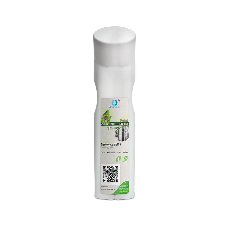 LINEA TECHNICAL AZZERA GRAFFITI INTERNO INODORE GREEN 2.0 CAM POCKET STICKER CON TAMPONE 85CC
