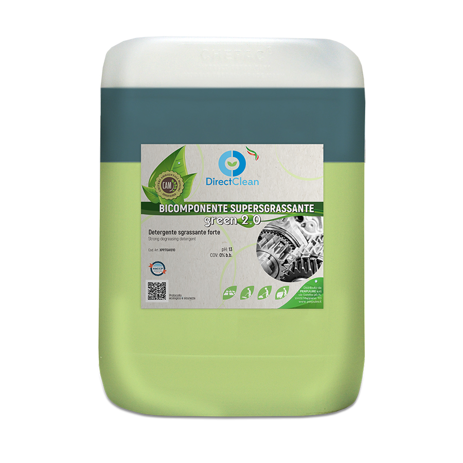 BICOMPONENTE SUPERSGRASSANTE GREEN 2.0 10KG TANICA