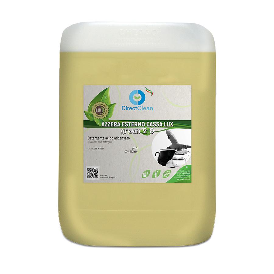 AZZERA ESTERNO CASSA LUX GREEN 2.0 10KG TANICA
