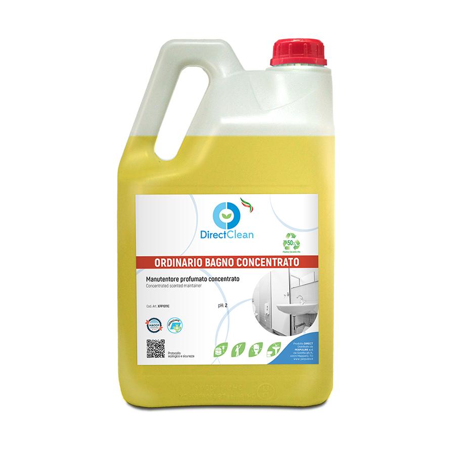 ORDINARIO BAGNO CONCENTRATO Detergente disincrostante igienizzante_ formato 5 litri