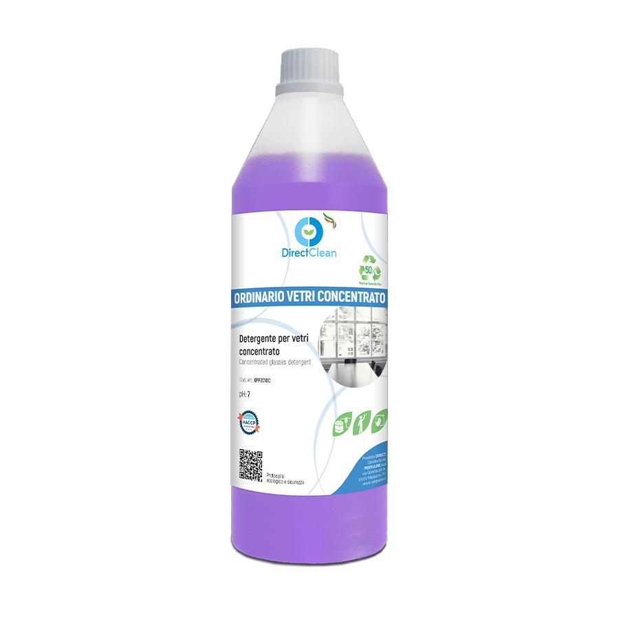 ORDINARIO VETRI CONCENTRATO Detergente CONCENTRATO per vetri e cristalli _ formato 1 litro