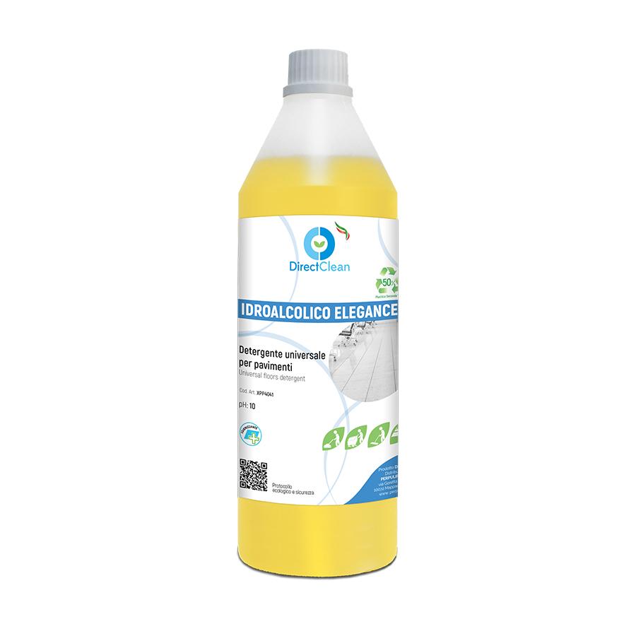 IDROALCOLICO PAVIMENTI ELEGANCE Detergente idroalcolico per pavimenti_Flacone 1lt