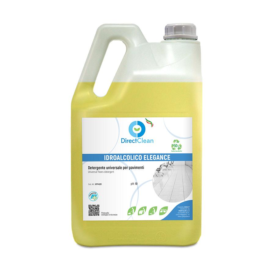 IDROALCOLICO PAVIMENTI ELEGANCE Detergente idroalcolico per pavimenti_Tanica 5lt