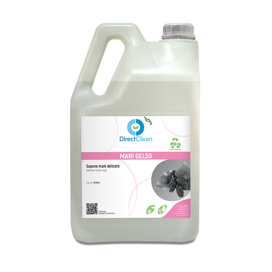 MANI GELSO Sapone liquido LAVAMANI_Tanica 5 litri