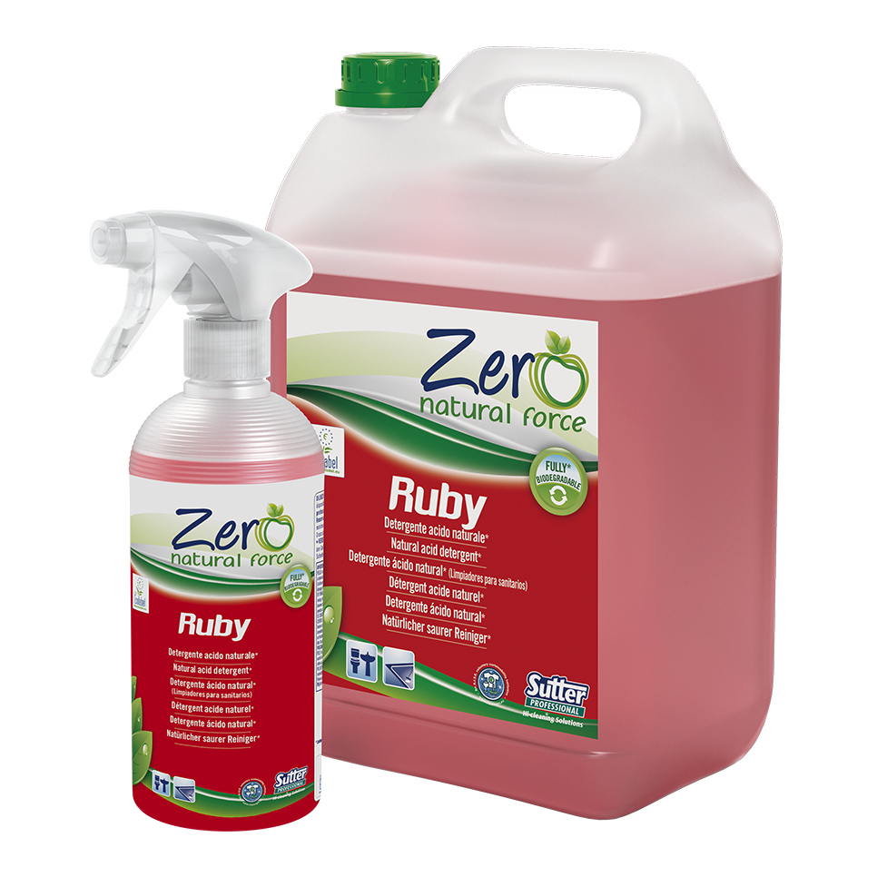 RUBY ECOLABEL 500ML  FLACONE
